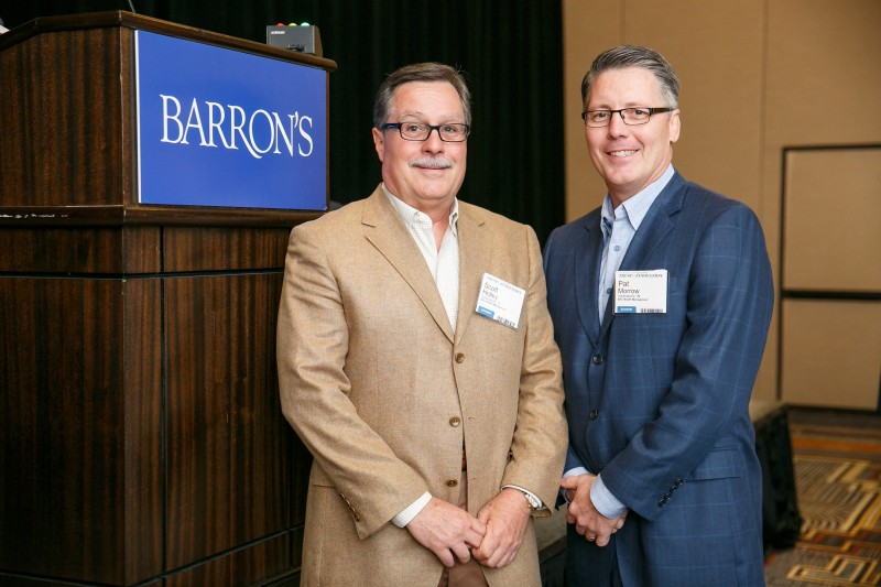 Patrick Morrow Attends Barron's Event
