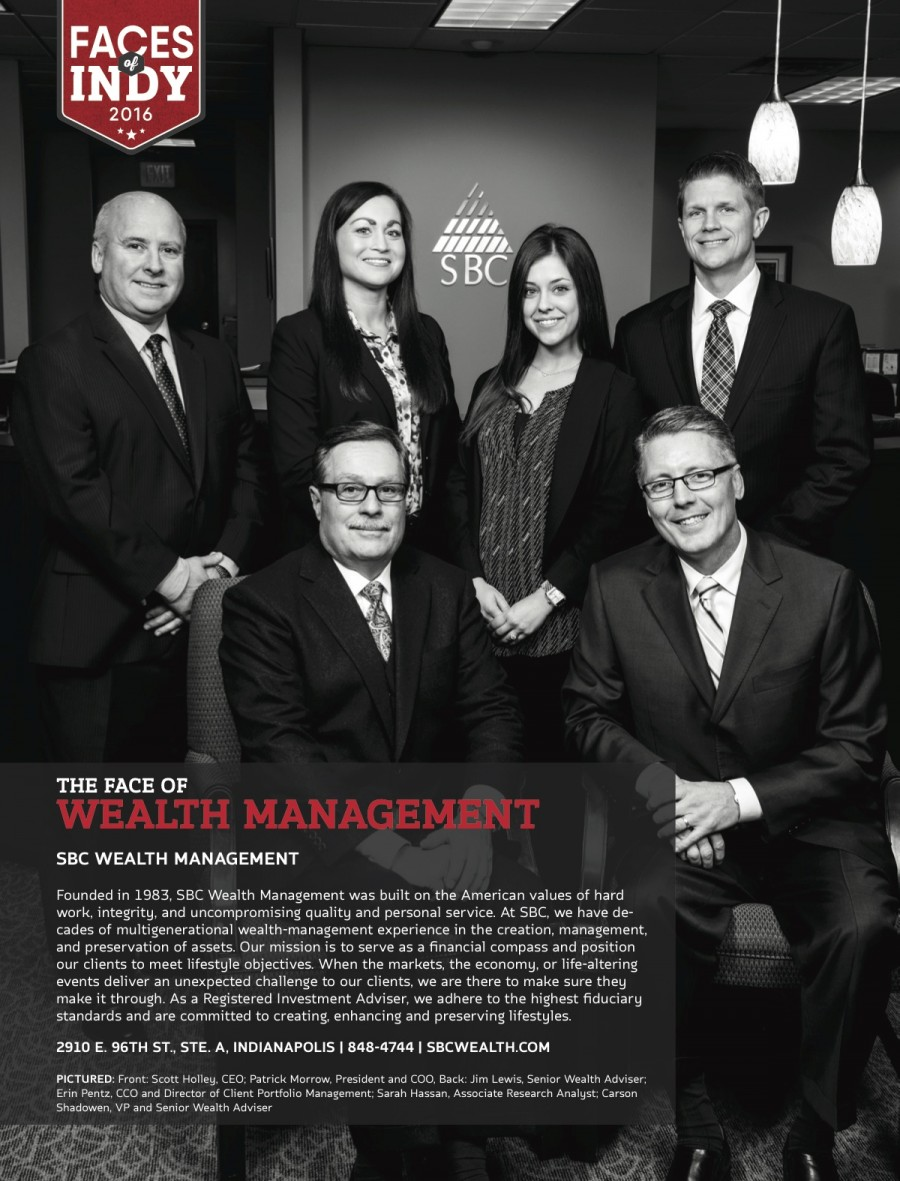 """SBC featured in Indianapolis Monthly """"Faces of Indy"""""""
